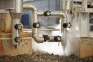 Dampftechnik für die Industrie